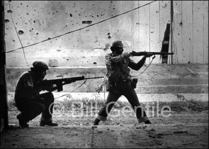Sandinista rebels in the Sandinista-occupied city Leon. 1979.